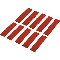 Odsevni lepilni trakovi (D x Š) 100 mm x 25 mm rdeč poli-etilenska folija RTS25/100-RD Conrad vsebina: 10 kosov