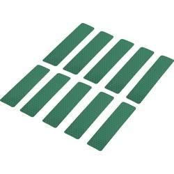 Odsevni lepilni trakovi (D x Š) 100 mm x 25 mm zelen poli-etilenska folija RTS25/100-GN Conrad vsebina: 10 kosov