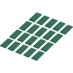 Odsevni lepilni trakovi (D x Š) 50 mm x 25 mm zelen poli-etilenska folija RTS25/50-GN Conrad vsebina: 20 kosov