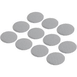 Självhäftande punkter RTS Silver (Ø) 40 mm Conrad Components 1282806 11 st