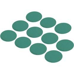Odsevne lepilne pike (premer) 40 mm zelen poli-etilenska folija RTS40-GN Conrad vsebina: 11 kos