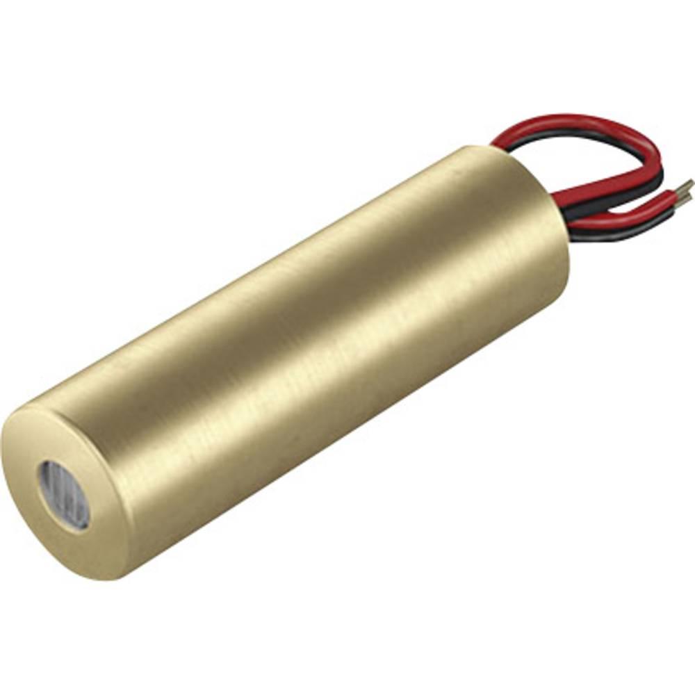 Laserski modul, točkovni, rdeče barve 1 mW Picotronic DB650-1-3-FA(14x45)