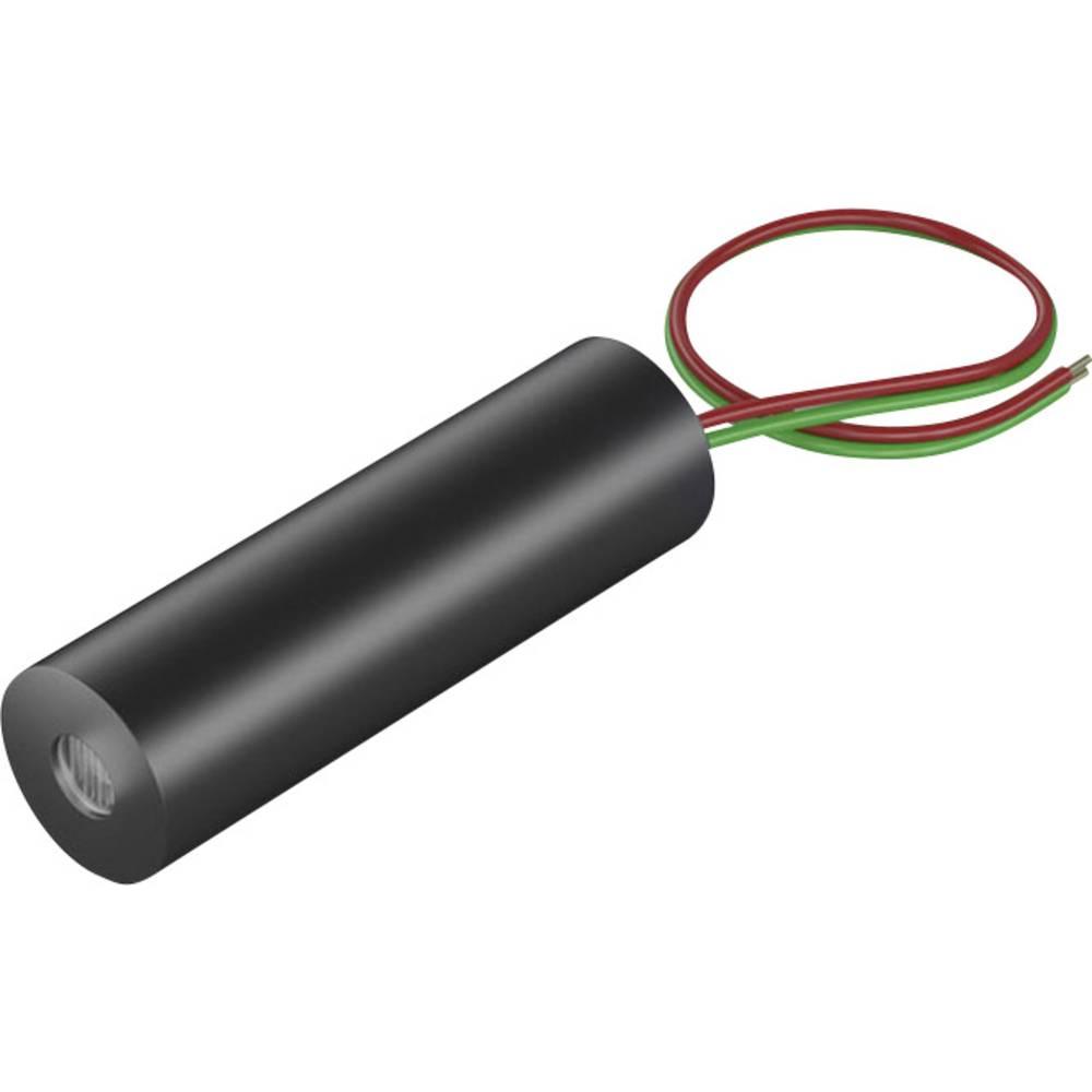 Laserski modul, linijski, rdeče barve 5 mW Picotronic LI635-5-3(8x26)30DEG-F285