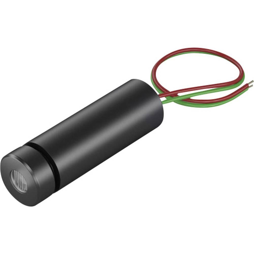 Laserski modul, točkovni, rdeče barve 0.4 mW Picotronic DC650-0.4-3(8x25)