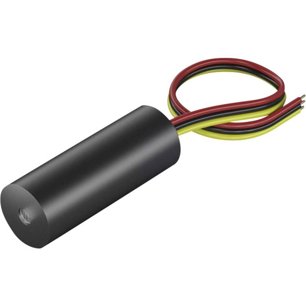 Laserski modul, točkasti, crvene boje 1 mW Picotronic DI650-1-5(8x21)-AP