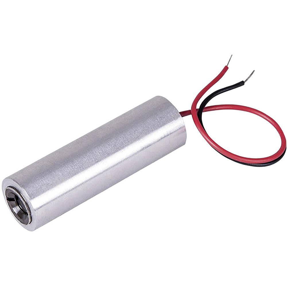 Laserski modul, točkasti, crvene boje 1 mW Picotronic DB635-1-3-FA(14x45)-AP