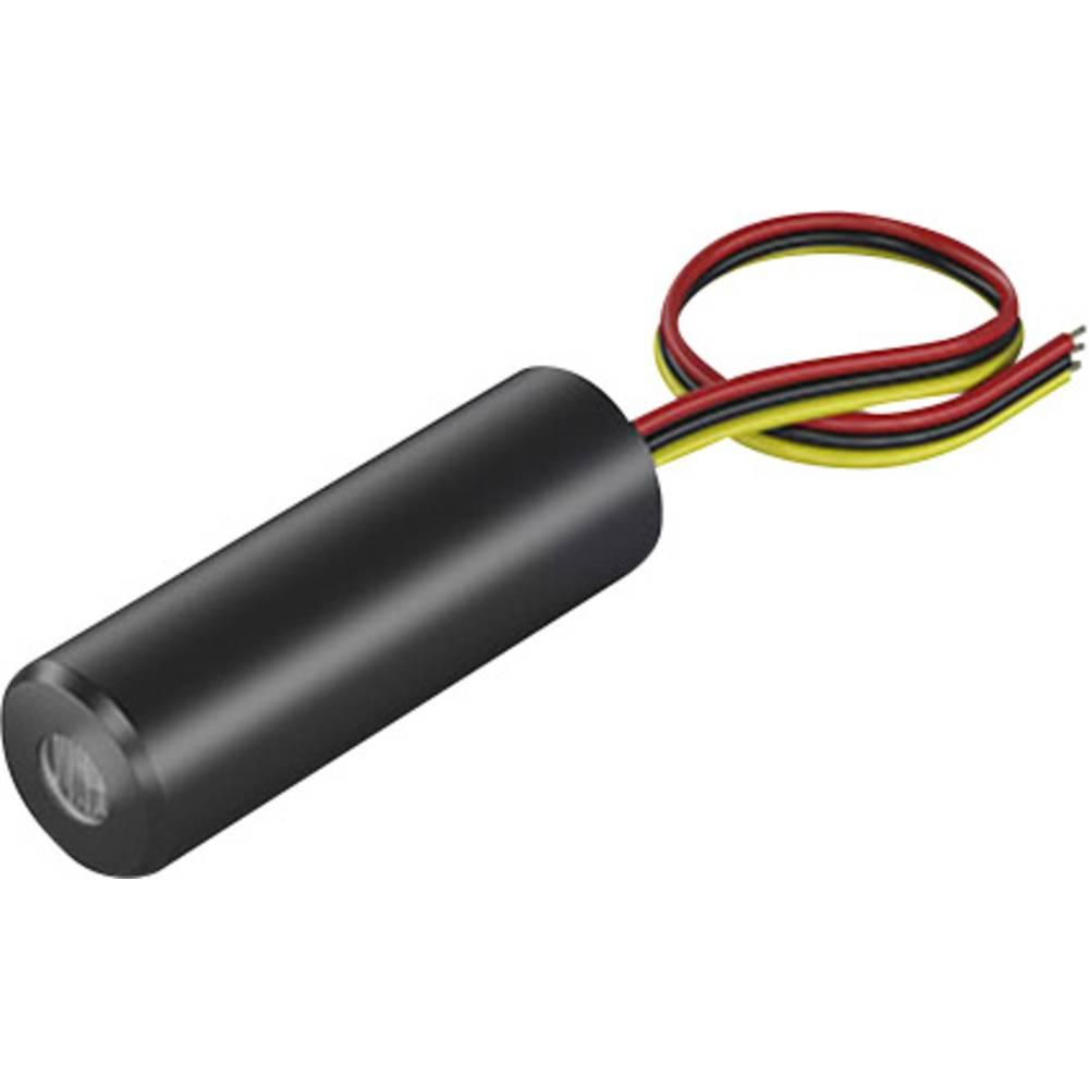 Laserski modul, linijski, rdeče barve 16 mW Picotronic MLH650-16-5(16x45)