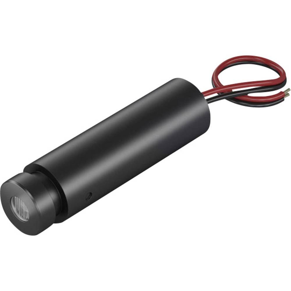 Laserski modul, točkovni, rdeče barve 1 mW Picotronic DDI635-1-24(12x45)-C500