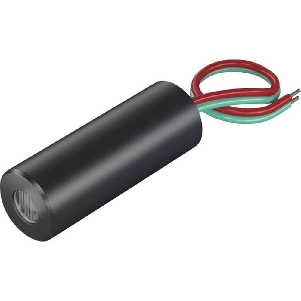 Laserski modul, linijski, rdeče barve 5 mW Picotronic LD650-5-3(12x32)45