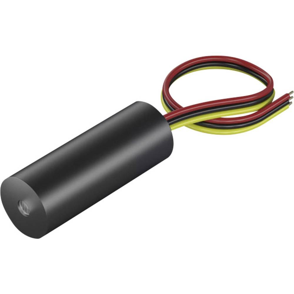 Laserski modul, točkovni, rdeče barve 1 mW Picotronic DI650-1-5(8x21)-F100