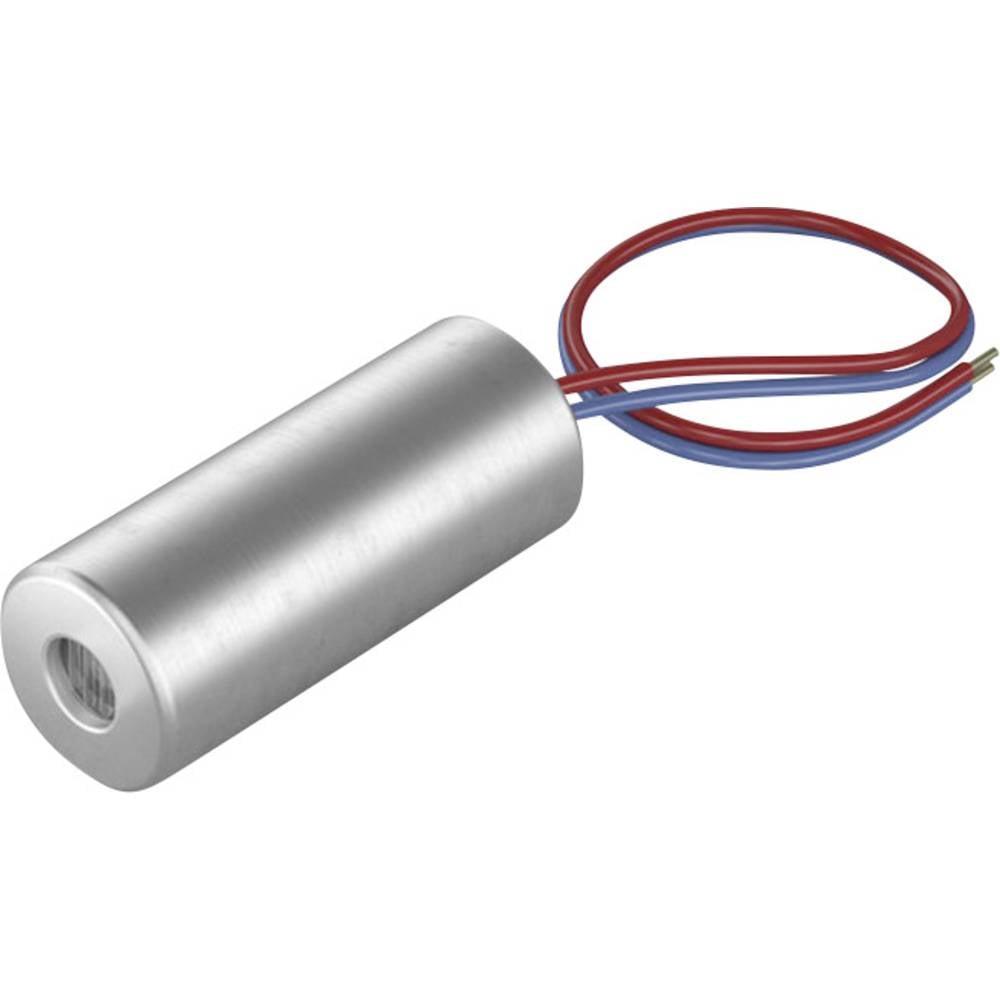 Laserski modul, točkovni, rdeče barve 0.4 mW Picotronic DI650-0.4-3(5x12)