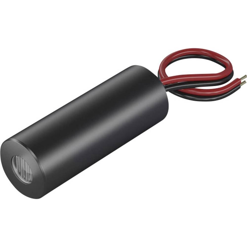 Laserski modul, linijski, rdeče barve 2.5 mW Picotronic LH635-2.5-3(12x32)