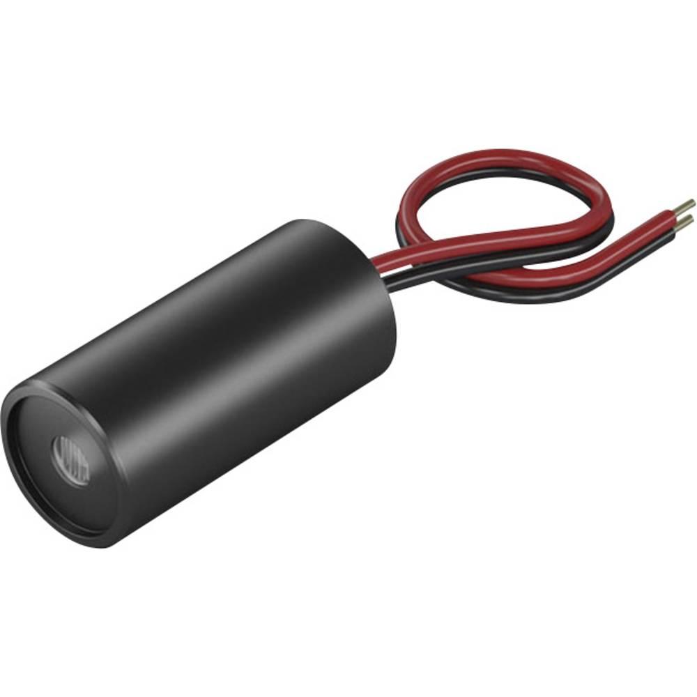Laserski modul, točkovni, rdeče barve 1 mW Picotronic DD635-1-5(12x25)