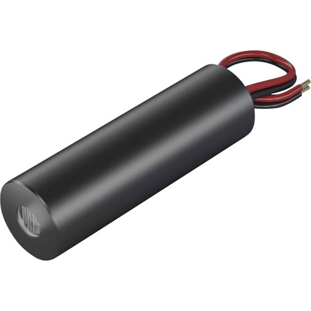 Laserski modul, točkovni, rdeče barve 1 mW Picotronic DB635-1-3-FA(14x45)-ADJ