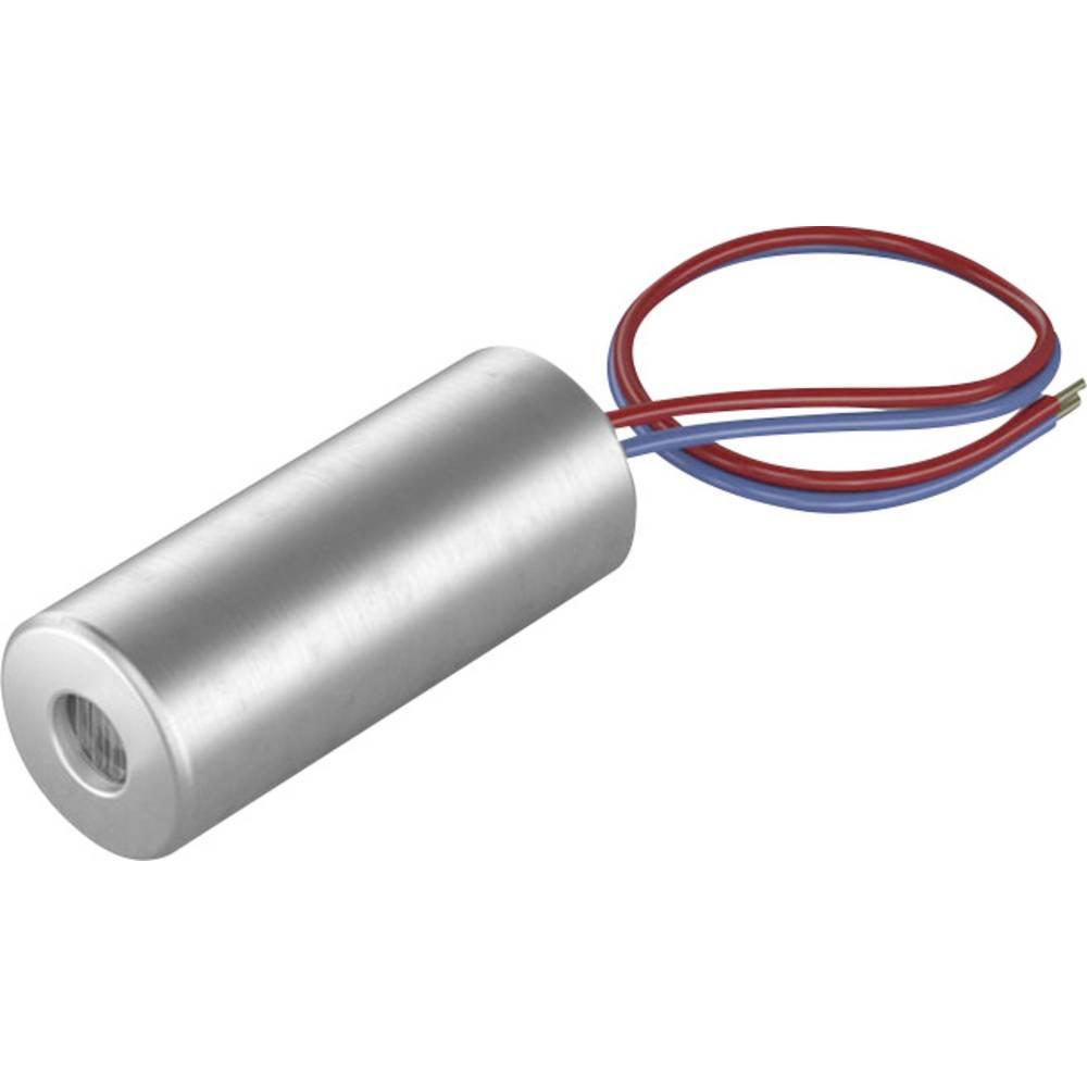 Laserski modul, točkovni, rdeče barve 1 mW Picotronic DI650-1-3(5x12)