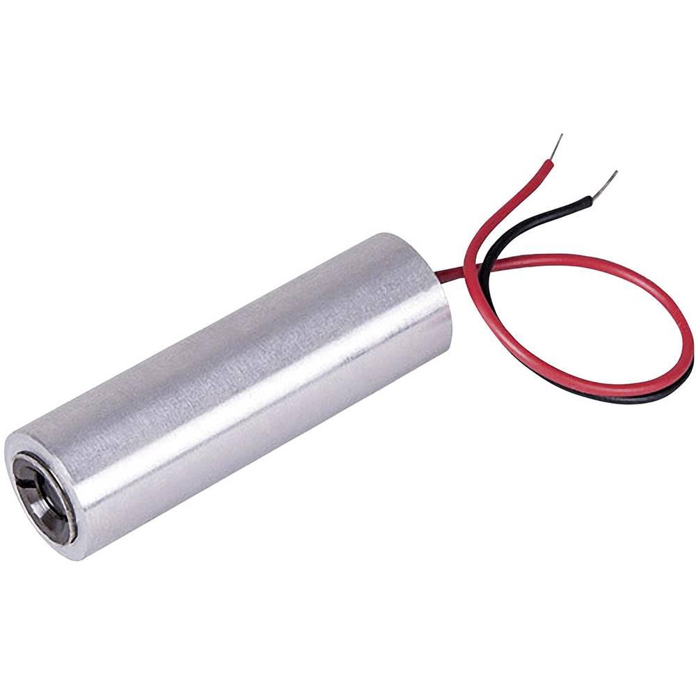 Laserski modul, točkovni, rdeče barve 1 mW Picotronic DB650-1-3-FA(14x45)-AP