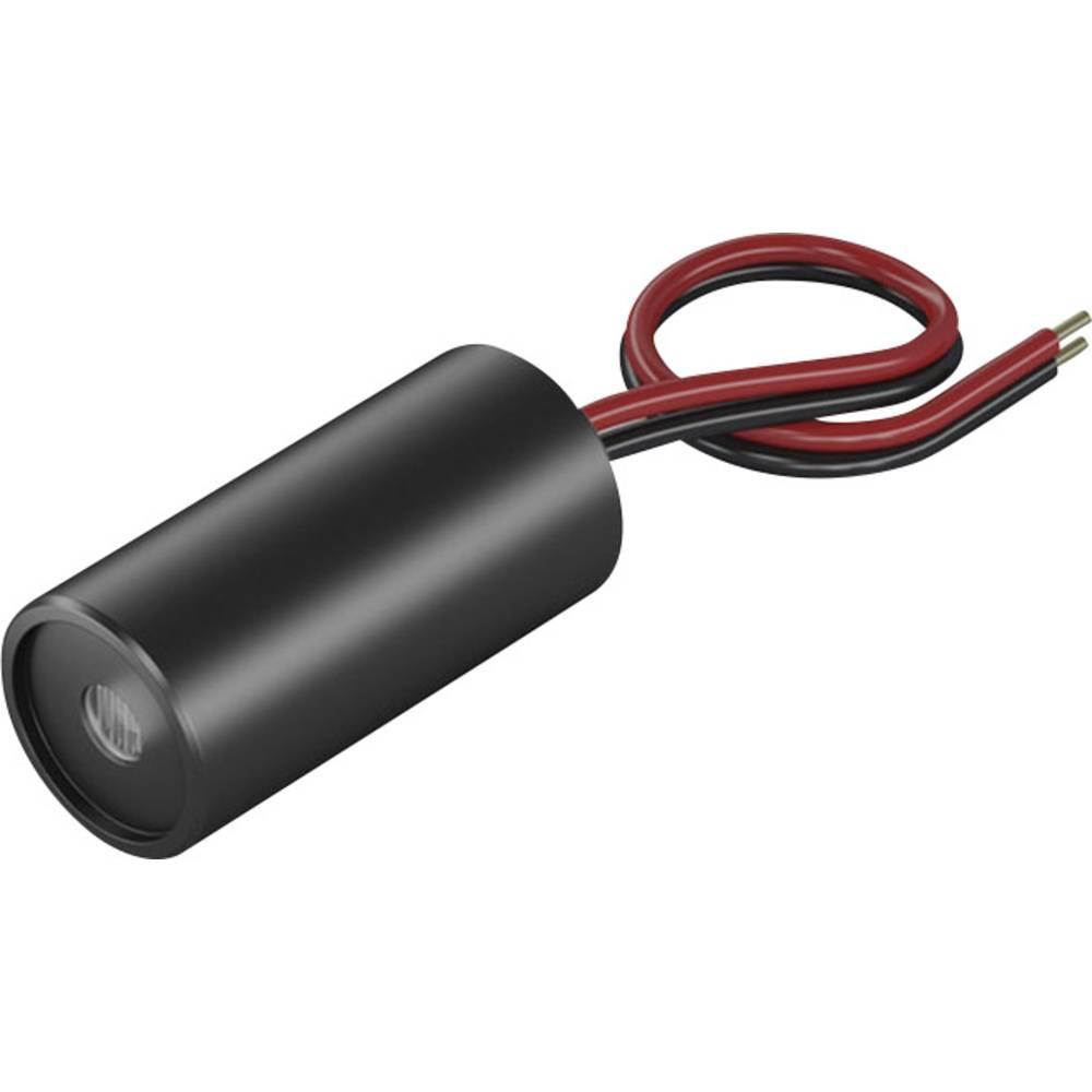 Laserski modul, točkovni, rdeče barve 1 mW Picotronic DD635-1-3(12x25)