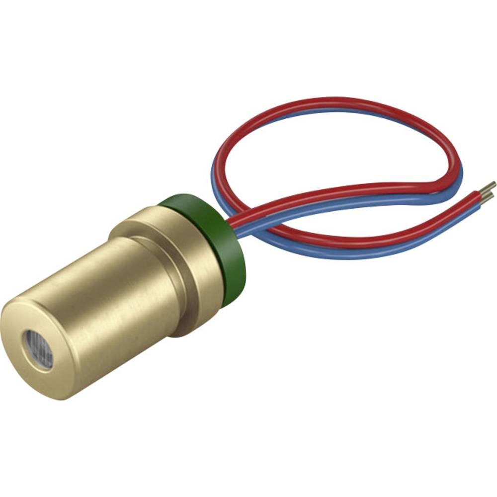 Laserski modul, točkasti, crvene boje 1 mW Picotronic DG650-1-5(7x14)