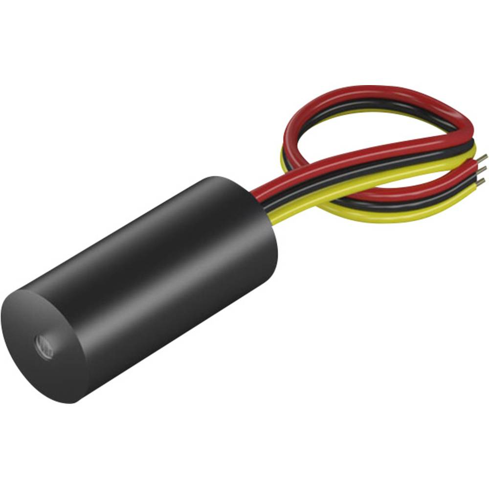 Laserski modul, točkovni, rdeče barve 0.9 mW Picotronic MDD650-0.9-5(14x30)