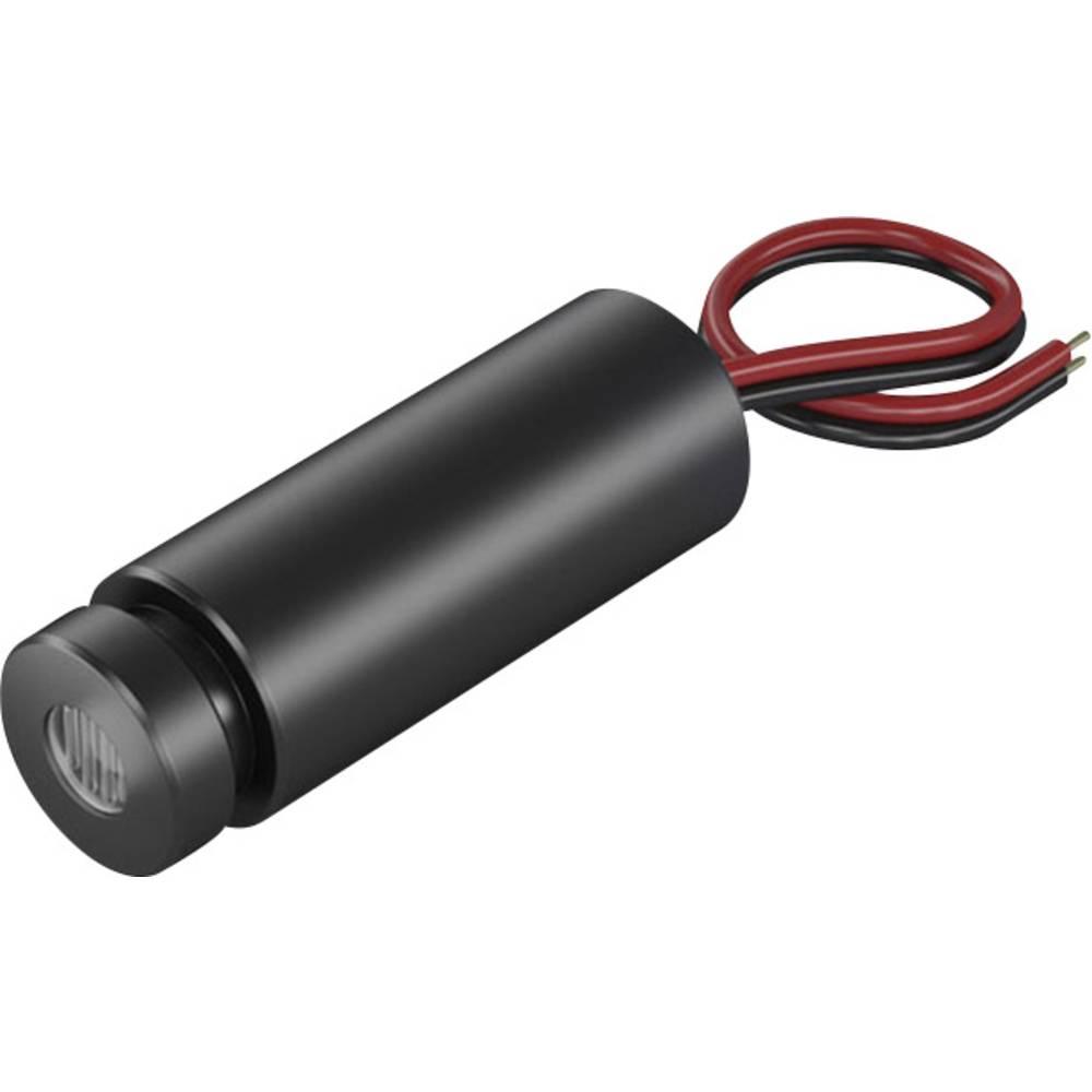Laserski modul, točkasti, crvene boje 0.4 mW Picotronic DD635-0.4-3(12x34)