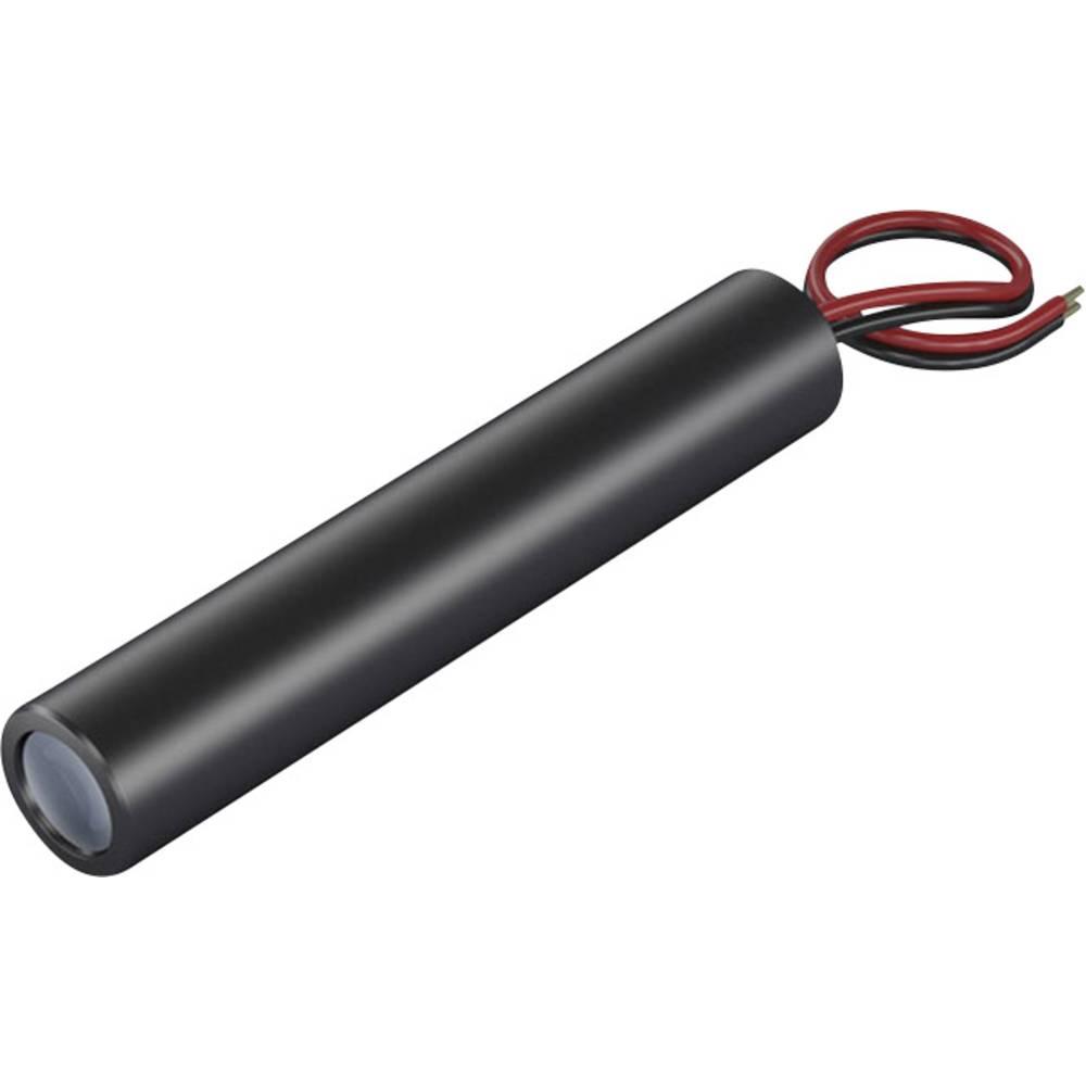Laserski modul, točkovni, rdeče barve 1 mW Picotronic DA635-1-3(11x60)