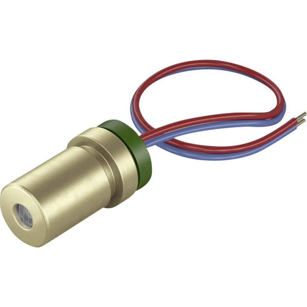 Laserski modul, točkasti, crvene boje 1 mW Picotronic DG650-1-5(7x14)-F35