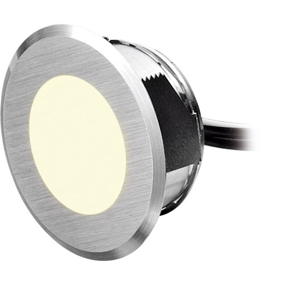 LED-bad-indbygningslampe Sæt med 5 stk. 1.25 W Varm hvid dot-spot ...