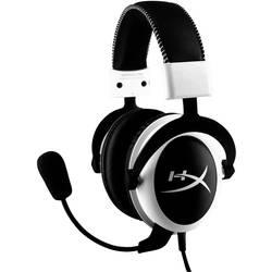 HyperX Cloud igralni naglavni komplet vrvične over ear bela, črna