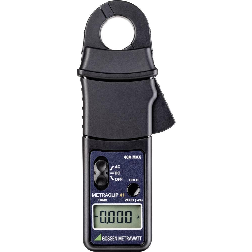Tokovne klešče, ročni multimeter, digitalni Gossen Metrawatt METRACLIP 41 kalibracija narejena po: delovnih standardih, CAT III