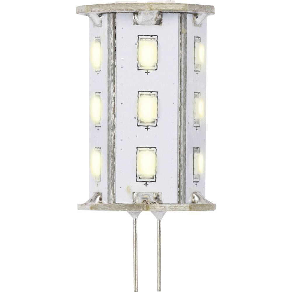 LED žarnica G4 oblika svinčnika 2.4 W = 20 W topla bela (premer x D) 22 mm x 46 mm EEK: A Sygonix 1 kos