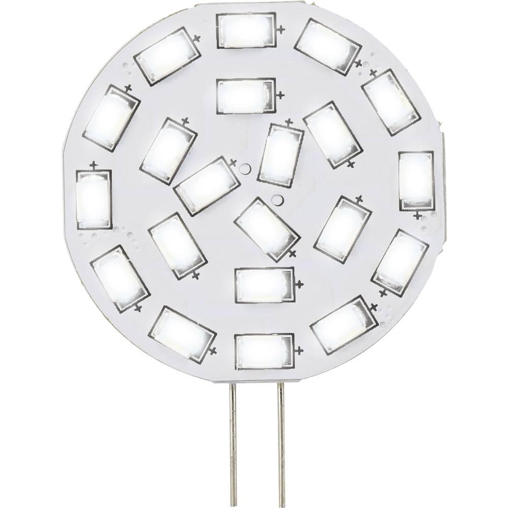 LED žarnica G4 oblika svinčnika 3 W = 30 W topla bela (premer x D) 35 mm x 47 mm EEK: A Sygonix 1 kos