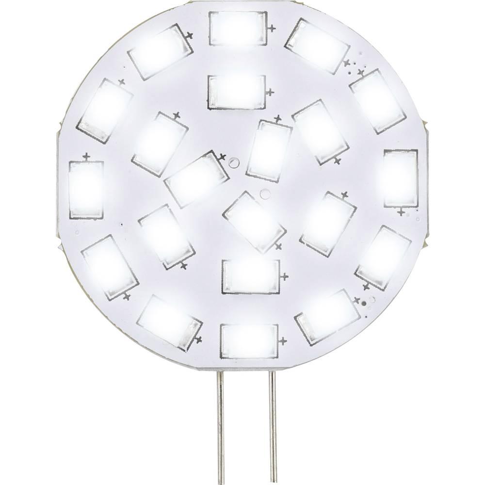 LED žarnica G4 oblika svinčnika 3 W = 30 W hladno bela (premer x D) 35 mm x 47 mm EEK: A Sygonix 1 kos