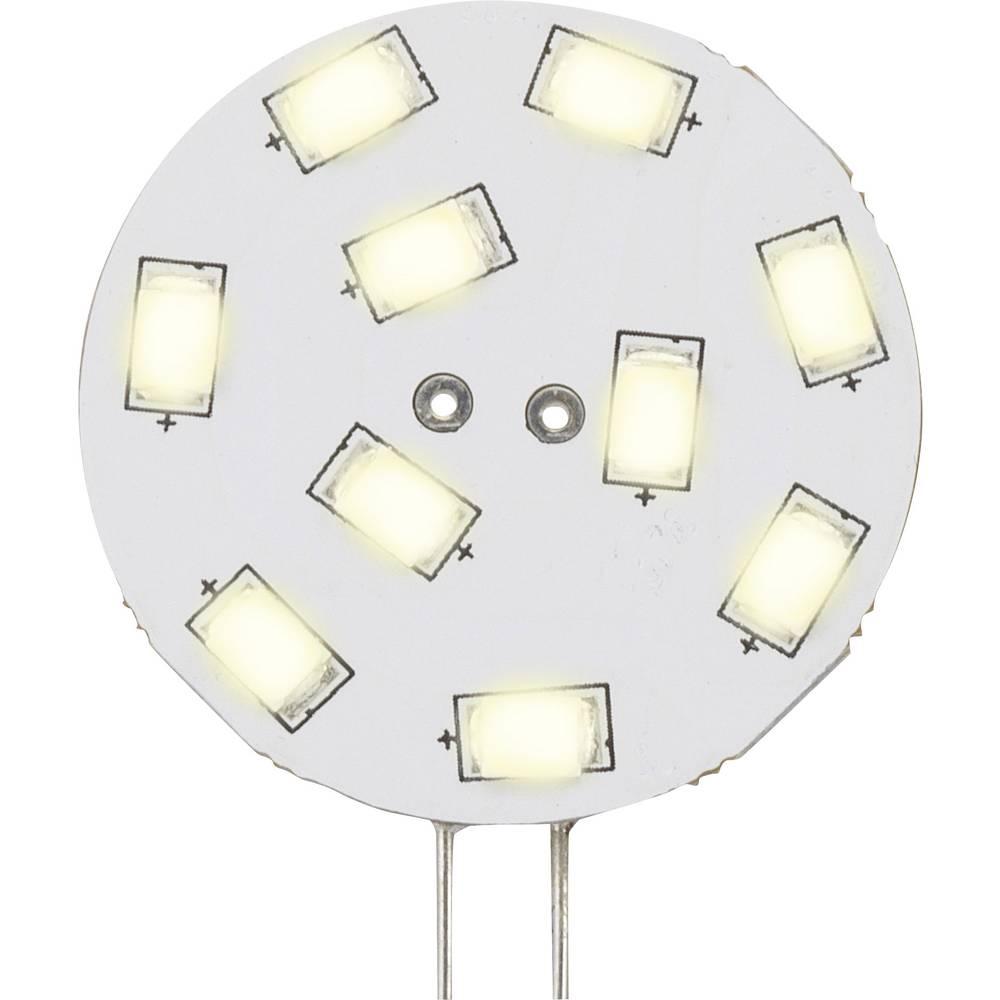LED žarnica G4 oblika svinčnika 1.5 W = 15 W topla bela (premer x D) 30 mm x 36 mm EEK: A Sygonix 1 kos