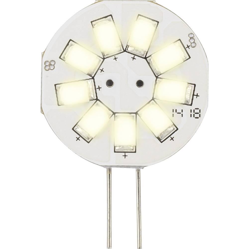 LED žarnica G4 oblika svinčnika 1.5 W = 10 W topla bela (premer x D) 23 mm x 35 mm EEK: A Sygonix 1 kos