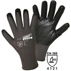 Fino pletene rokavice Worky FOAM, 100% najlon z nitrilno prevleko, velikost 7, 1157