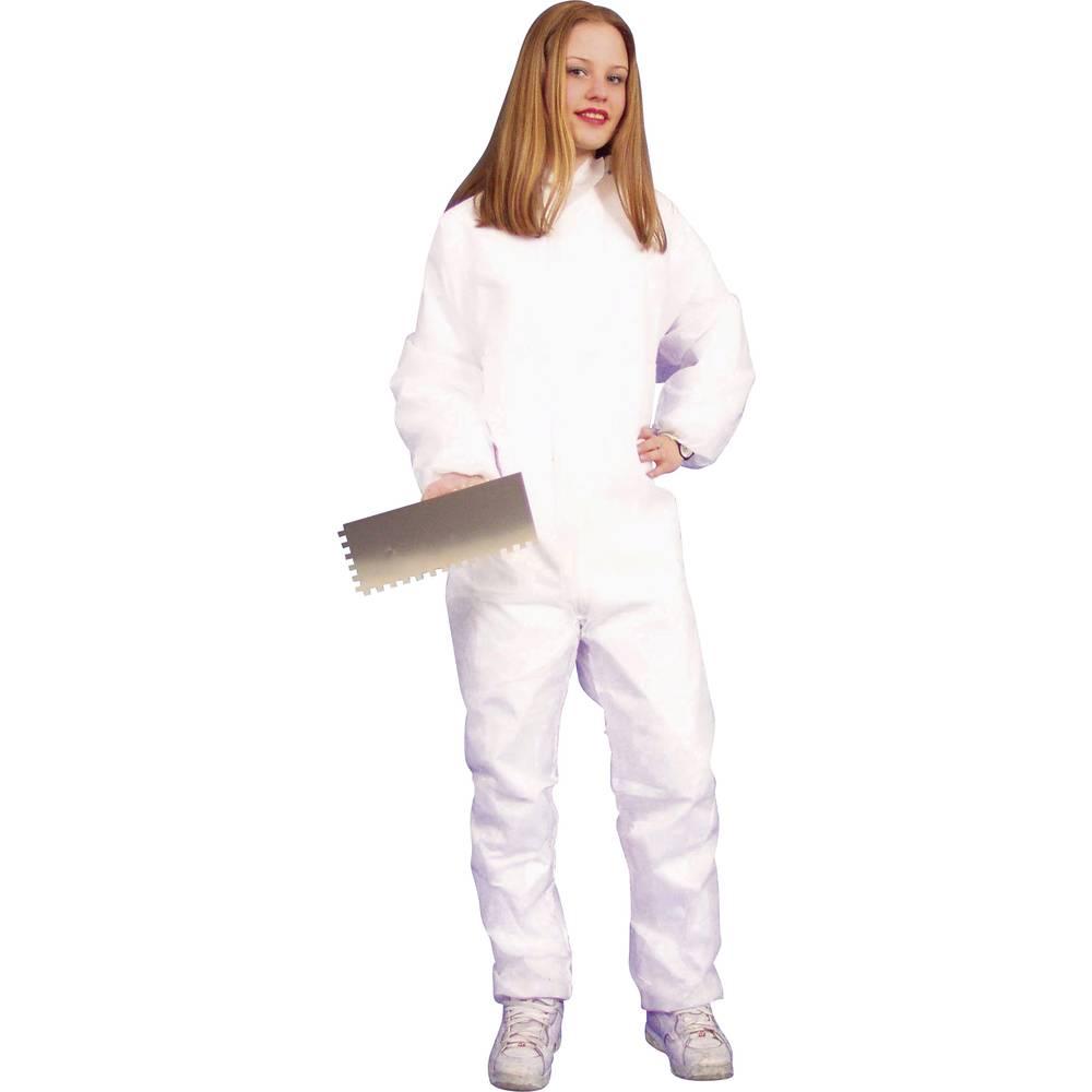 Delovna obleka iz polipropilena, velikost XXL, bela, 2512