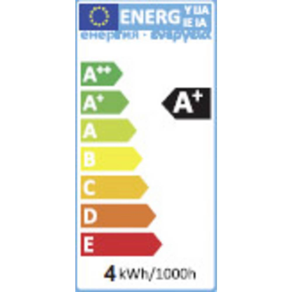 LED žarulja (jednobojna) sygonix 64.50 mm 230 V GU10 4 W = 25 W hladno-bijela KEU: A+ reflektor sadržaj 1 komad