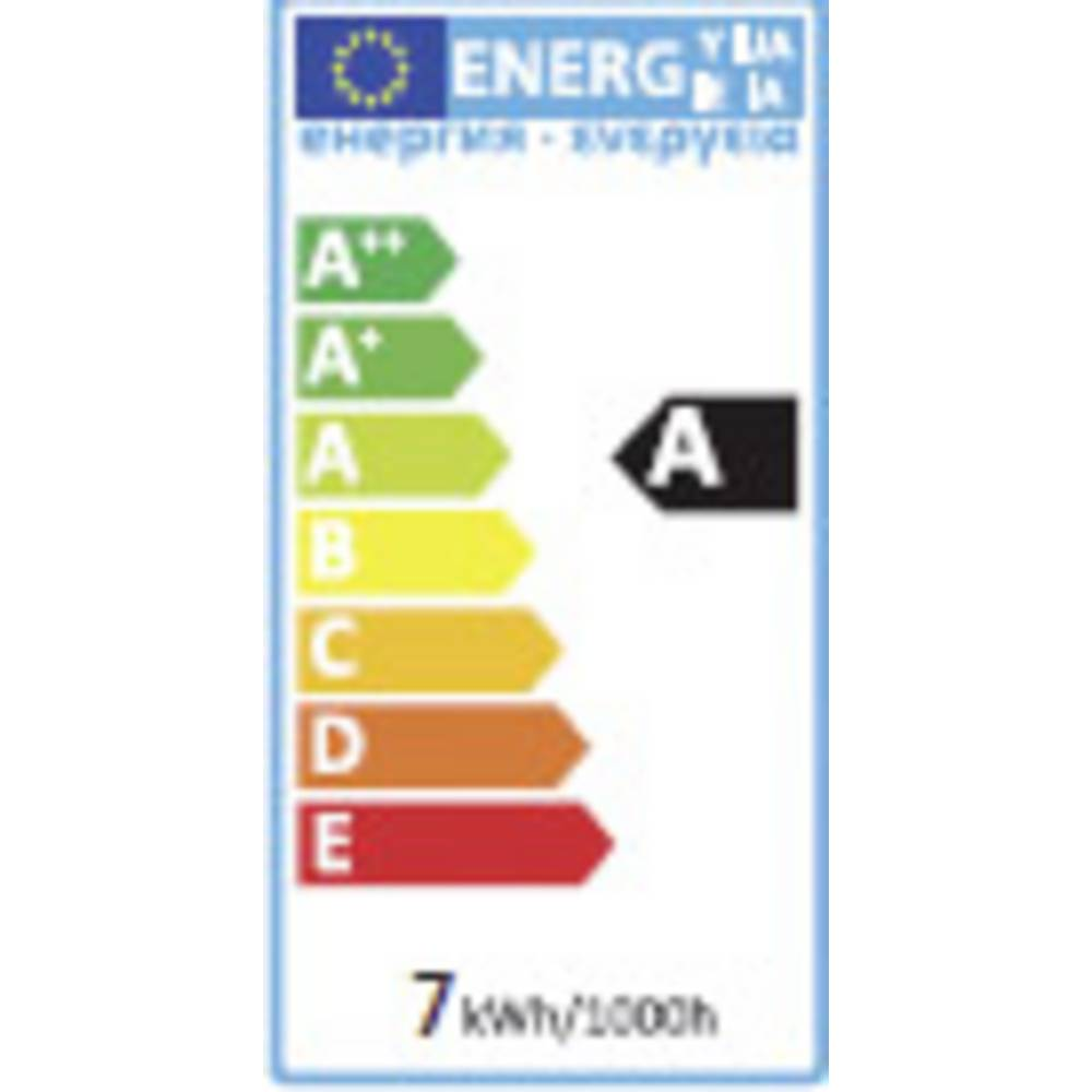 LED žarulja (jednobojna) sygonix 57 mm 230 V GU10 6.5 W = 50 W KEU: A reflektor sadržaj 1 komad