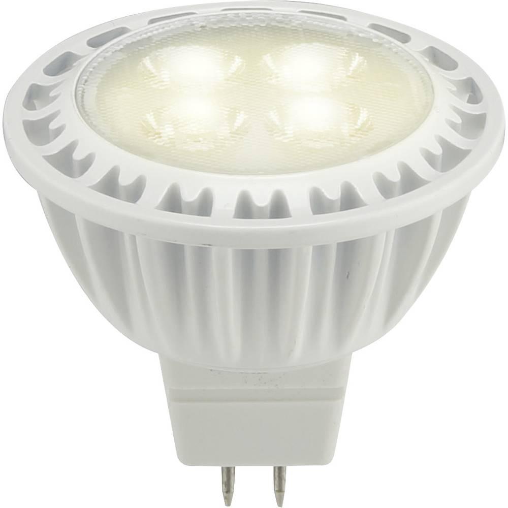 LED žarulja (jednobojna) sygonix 12 V GU5.3 6.5 W = 35 W toplo-bijela KEU: A reflektor sadržaj 1 komad