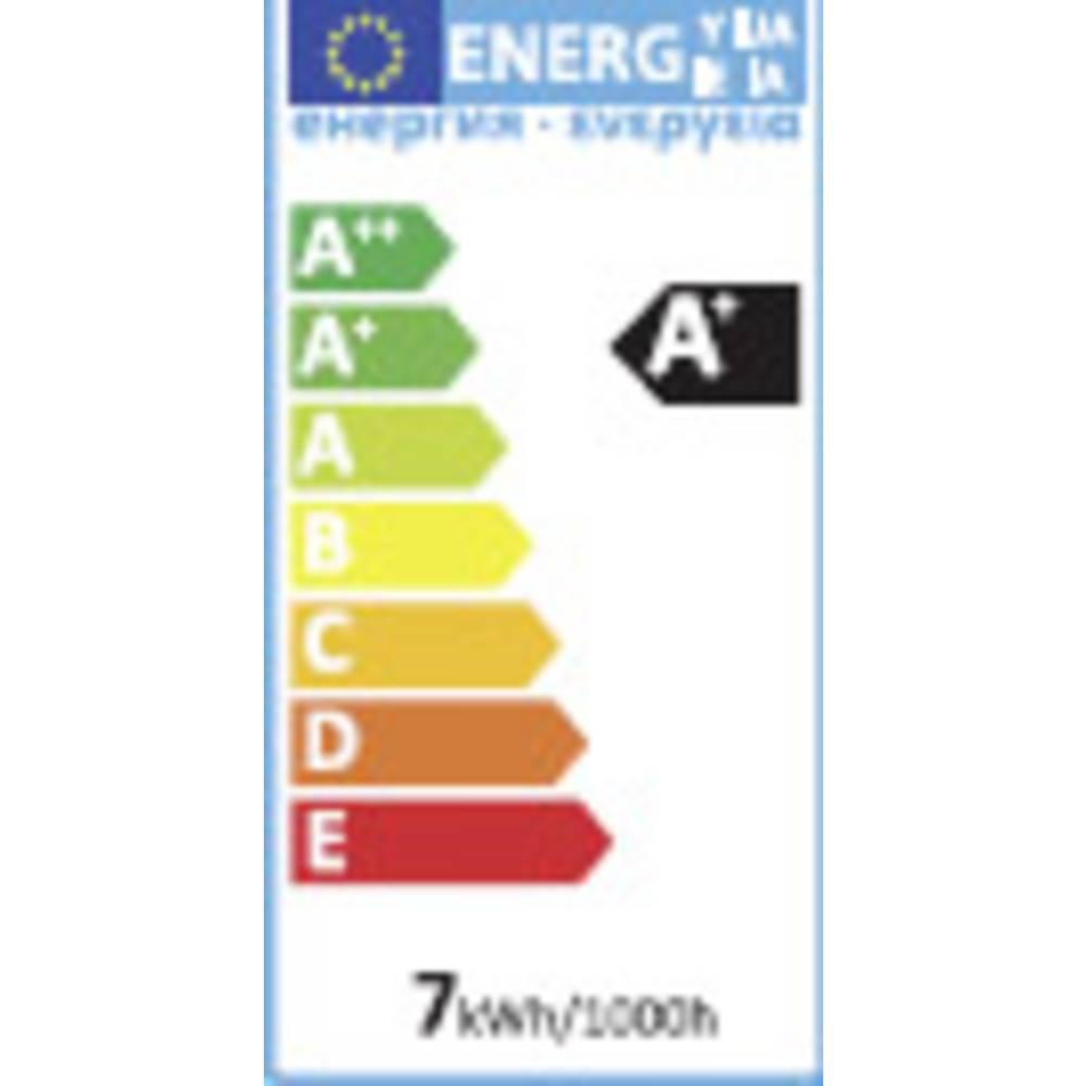 LED žarnica E27 klasična oblika 6.5 W = 40 W topla bela (premer x D) 60 mm x 110 mm EEK: A+ Sygonix 1 kos