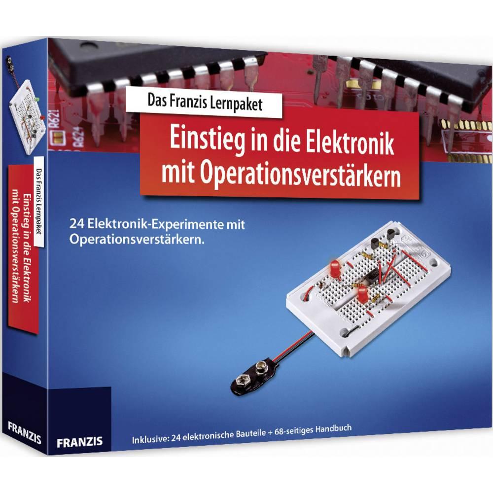 Paket za učenje Franzis Verlag Lernpaket Einstieg in die Elektronik mit Operationsverstärkern 65254 Od 14 leta dalje