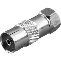 Vivanco F-kratek adapter antenski, SAT priključek