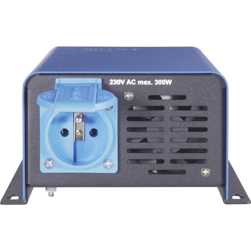 Razsmernik IVT DWS-1200/24 V FR 1200 W 24 V/DC daljinski upravljalnik, vijačne objemke, varnostna vtičnica