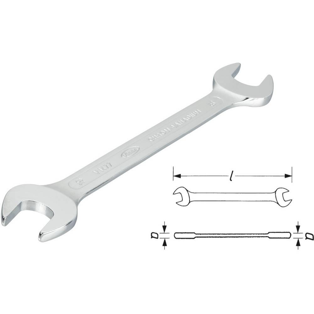 Dvojni viličasti ključ SW 10x11 Vigor V1473