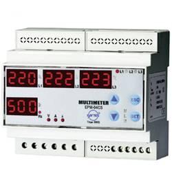 ENTES EPM-04C-DIN programirivi 3-fazni ugradbeni (na DIN šinu) AC multimetar EPM-06-DIN napon, struja, frekvencija, sati rada