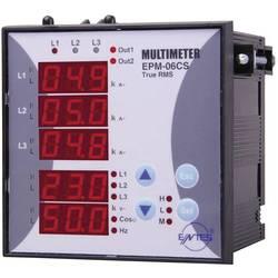 ENTES EPM-06-96 programirivi 3-fazni ugradbeni AC multimetar EPM-06-96 napon, struja, frekvencija, sati rada