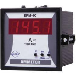 ENTES EPM-4C-72 programirivi 1-fazni AC mjerač struje ugradbeni instrument s vanjskim relejom
