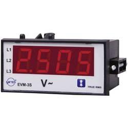 ENTES EVM-3C-48 programirivi 1-fazni AC mjerač napona ugradbeni instrument s vanjskim relejom