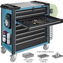 Kolica za alat, materijal i montažu Hazet 179XL-7