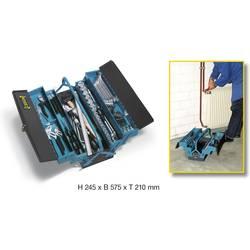 Kovček z orodjem, z vsebino Hazet 190/80 iz železa modre barve